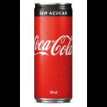 Dom Bacon web app Coca Cola Zero Lata