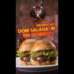 Dom Bacon web app Dom Salada JR em Dobro