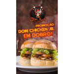 Dom Chicken JR em Dobro Dom Bacon