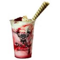 Dom Bacon web app Milkshake de morango