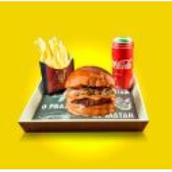 Combo Dom Cheese + Bebida + Batata Frita Dom Bacon