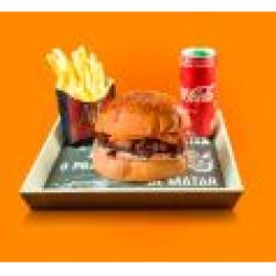 Combo Dom Cheddar + Bebida + Batata Frita Dom Bacon