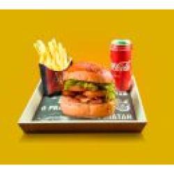 Combo Dom Chicken + Bebida + Batata Frita Dom Bacon
