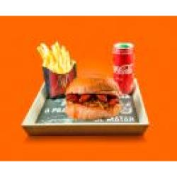 Combo Dom Chili + Bebida + Batata Frita Dom Bacon