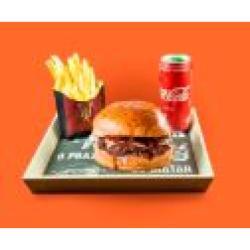 Dom Bacon web app Combo Dom Burg + Bebida + Batata Frita