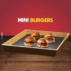 Dom Bacon web app 4 mini hambúrguer