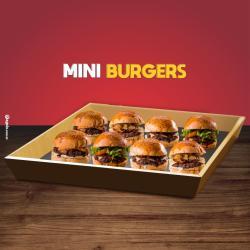 Dom Bacon web app 8 mini hambúrguer