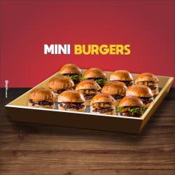 Dom Bacon web app 12 mini hambúrguer