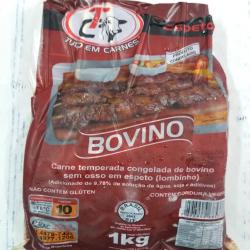 Pacote espeto bovino 1 kg  Espetinhos.com