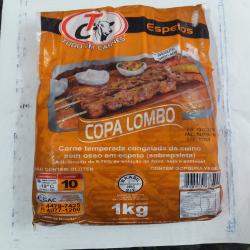 Pacote espeto lombo 1 kg Espetinhos.com