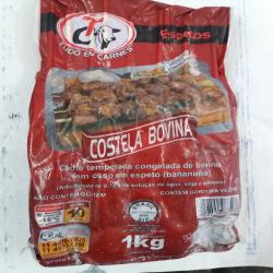 Pacote espeto costela bovina 1 kg Espetinhos.com