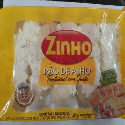 Pacote pão de alho baguette c/5  Espetinhos.com