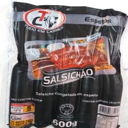 Pacote espeto salsichão c/ 5  Espetinhos.com