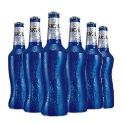 Estupidas Cervejas Delivery web app Skol Beats sense Long Neck 313 ml (6 garrafas)
