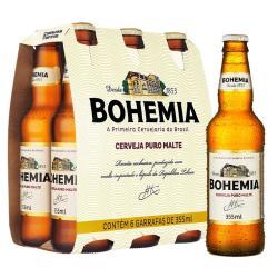 Estupidas Cervejas Delivery web app Bohemia Puro Malte (6 garrafas)