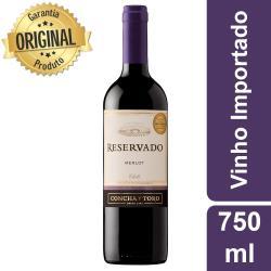 Estupidas Cervejas Delivery web app Vinho Reservado Merlot (chile)
