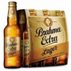 Estupidas Cervejas Delivery web app Brahma extra lager Puro Malte (6 garrafas 355 ml)