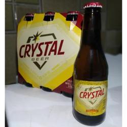 Estupidas Cervejas Delivery web app Cerveja Crystal Beer Pilsen (6 garrafas)