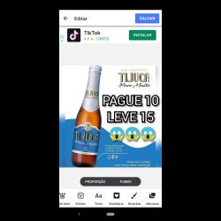 Estupidas Cervejas Delivery web app Cacildis Puro Malte 355 ml (6 Garrafas)