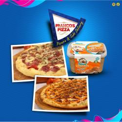 Franco's Pizza web app Super Combo 2 grandes + Sorvete