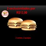 2 EXCLUSIVO DOUBLE Biel Burger
