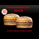 2 Exclusivo cheddar Biel Burger