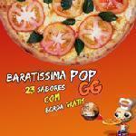 Super Promoção Pizza Gigante + Borda Recheada Grátis Guinness Pizza
