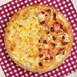 Pizza meio a meio grande Guinness Pizza