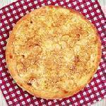 Pizza banana com canela Guinness Pizza
