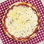 Pizza salaminho Guinness Pizza