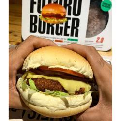 VEGAN BURGER Homes Burger