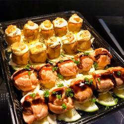 Japa Mix Lounge web app Ebi Roll+ Roll de salmão com camarão