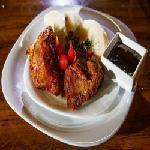 Carne de lata com mandioca Pizzaria Ki Massa