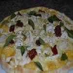 Palmito com tomate seco Pizzaria Ki Massa