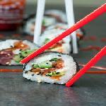 10 Roll Bacon Sushi  Kibarato Sushi