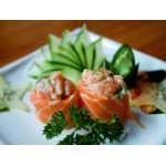Gunkan Salmão Kibarato Sushi
