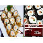 20 hots ou filadelfia Kibarato Sushi