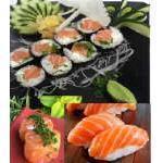 Combo salmão (14 peças) Kibarato Sushi