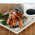 Temaki Skin salmão Kibarato Sushi