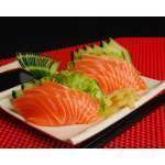 Sashimi Salmão - 8 peças Kibarato Sushi
