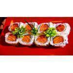 Uramaki Salmão - (10 unidades) Kibarato Sushi