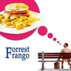 Forrest frango - o contador de sanduíches Las Leñas