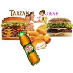 Tarzan e jane  Biel Burger