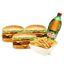 Combo Família  Biel Burger