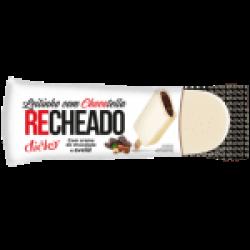 Picolé Recheado Leitinho c/ Chocotella Raroo's Burguer