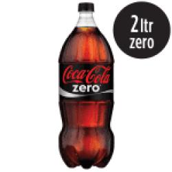 Coca-Cola ZERO 2LTS Raroo's Burguer