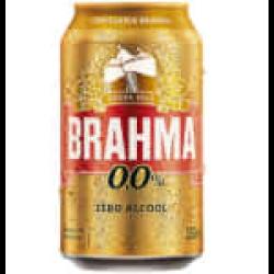 BRAHMA LATA 350ML ZERO Raroo's Burguer