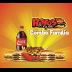COMBO FAMÍLIA Raroo's Burguer