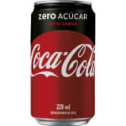 Coca-Cola ZERO LATA 350ML Raroo's Burguer