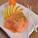 Salmão ao Mel e Maracujá Sushi Motto - Barreiro